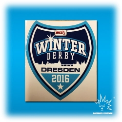 Aufkleber - Winter Derby 2016 - Logo